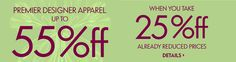 iShopinternational.com Shop International! Shop from the USA #Sale Premier Designer Upto 55% OFF >>http://bit.ly/1rc0PX2