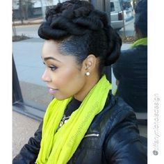 Natural Hairstyles For Job Interviews Cool Job Interview Hairstyles For Natural Hair  Google Search