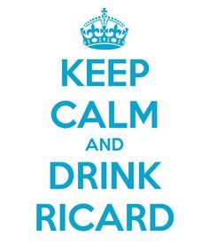 #keepcalm #ricard
