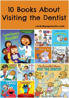 Books about Visiting the Dentist - 15 Stories to Help Prepare Kids for the Dentist New Children's Books, Great Books, Kid Books, Toddler Books, Childrens Books, Community Helpers, Community Workers, Dental Health Month, Kindergarten Themes