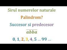 Rasturnatul, predecesorul si succesorul unui numar natural. Ce este un palindrom? (Clasa a 5-a) - YouTube Film, Youtube, Movie, Film Stock, Cinema, Films, Youtubers, Youtube Movies