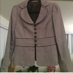 Nine West Blazer size 2 cute Houndstooth blazer. Size 2. Worn once Nine West Jackets & Coats Blazers