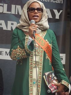Malcolm X's daughter