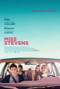 Lily Rabe, Timothée Chalamet, Lili Reinhart, and Anthony Quintal in Miss Stevens (2016)