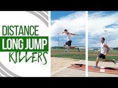 Long Jump Technique   Distance Killers & How To Avoid Them - YouTube Jump Workout, Track Workout, Exercise, Long Jump, High Jump, Track Drill, 100m Hurdles, Good Drive, Triple Jump