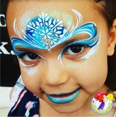 The Ultimate Frozen Face Painting Guide Frozen Face, Paint Supplies, Frozen Princess, Paint Brands, Face Painting Designs, Deep Teal, Snow Queen, Pearl Color, Face Art