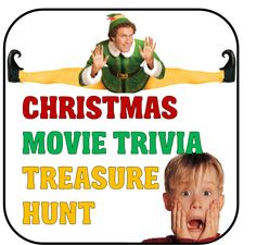 Hilarious Christmas party game ideas to add some fun and festivity to your holiday bash! Christmas Movie Trivia, Funny Christmas Party Games, Christmas Riddles, Funny Christmas Cards, Christmas Humor, Grinch Party, Holiday Games, Christmas Party Ideas For Teens, Its Christmas Eve
