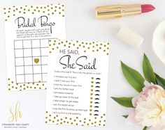 You'll have a lot of fun at your bridal shower or bachelorette party with this bundle of 7 most popular bridal games! #printable #bridalshower #bridalshowergames #bridalgames #bridalshowergamespackage #bridalgamespackage #bridalshowergamespack #bridalgamespack #bridalshowerbundle #bridalbundle #bridalshowerstationery #bridalstationery #SHdesigns