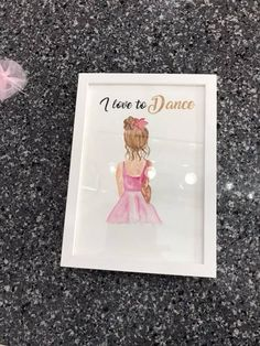 Excited to share the latest addition to my shop: Personalised Ballerina Watercolour Frame Ballerina, Watercolour, A4, Etsy Shop, Unique Jewelry, Handmade Gifts, Frame, Shopping, Pen And Wash