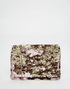 ASOS Sequin Cross Body Bag