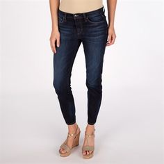 Joe's Jeans Women's Contemporary Straight Ankle Jean  #VonMaur #Joe'sJeans #DarkWash #CroppedJeans