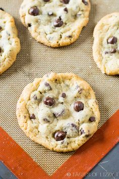The search is over. Introducing the all around best Bakery Style Chocolate Chip Cookie Recipe. Slightly crisp on the outside, soft and chewy on the inside.