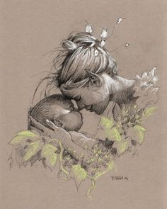 mother and daughter drawings - Google Search