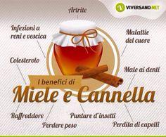 Miele e canella Wellness Fitness, Health And Wellness, Health Fitness, Healthy Tips, How To Stay Healthy, Home Spa Treatments, Sports Food, In Natura, Juice Plus
