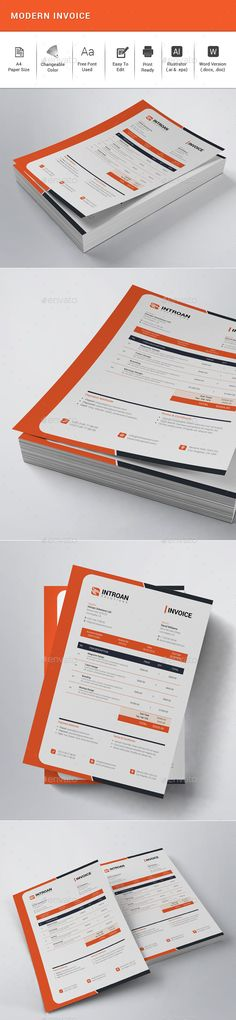 invoice template for graphic designer freelance