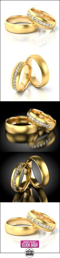 Anillos De Boda Oro amarillo 750_S-929_D  ✿ Joyas para hombres especiales - lujo ✿ ▬► Ver oferta: https://comprar.io/goto/B01DRC0OB2