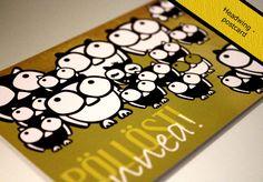 Finnish Pisama Design postcards :)