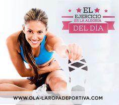 Feliz miércoles te desea OLA-LA ROPA DEPORTIVA. Que tu día sea +Fitness +Ejercicio +GYM +OLA-LA +TU. En OLA-LA somos como tu... http://www.ola-laropadeportiva.com/ Contáctenos por whatsapp al +57 3188278826. #GYM #Workout #Nuevacolección #FitnessFreak #Trajesdebaño #Vestidosdebaño #Verano2016 #CostaRica #Leggins #TOPS #Summerfit #Olalaropadeportiva #Ecommerce #Online #Comercioelectrónico #Colombia