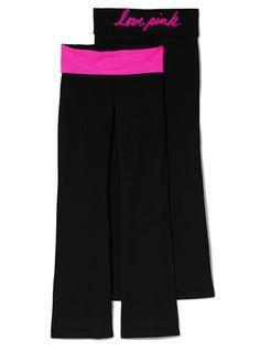 Victoria's Secret PINK Bootcut Yoga Pant #VictoriasSecret http://www.victoriassecret.com/pink/pink-loves-yoga/bootcut-yoga-pant-victorias-secret-pink?ProductID=74215=OLS?cm_mmc=pinterest-_-product-_-x-_-x - $34.50
