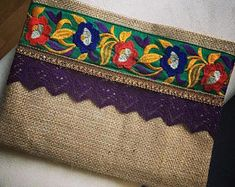 Bohemian Clutch, ethnic clutch, boho bag, clutch purse, women handbag, handmade gift, fall finds