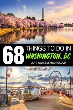 Wondering what to do in Washington, DC? This travel guide will show you the top attractions, best activities, places to visit & fun things to do in Washington, DC. Start planning your itinerary & bucket list now! #DC #WashingtonDC #thingstodoinDC #usatravel #usatrip #usaroadtrip #travelusa #travelunitedstates #ustravel #ustraveldestinations #americatravel #vacationusa Usa Travel Guide, Travel Usa, Travel Guides, Travel Tips, Washington Dc Travel Guide, Travel Movies, Cruise Excursions, Us National Parks, Road Trip Usa