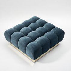 Denim Furniture, Sofa Furniture, Furniture Design, Living Room Sofa Design, Bedroom Bed Design, Hookah Lounge Decor, Tufted Sectional, Modern Sofa Designs, Unique Sofas
