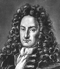 With a name like Gottfried Wilhelm Leibniz and an awesome wig, he must be a genius.
