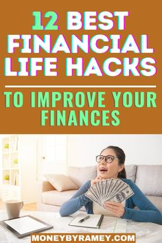 My goal in writing this post is to help you improve your overall financial life. While most of the items will be specific to finances, a few of the items will be general life hacks. Click the photo to learn more about the 12 Best Financial Life Hacks to Improve your Finances. #ideas #personalfinance #hacks #money #moneymanagement #moneyideas #financialfreedom #financialplanning #tips #howto #financialindependence #savings #budgeting #investing #finance #financial Finance Blog, Finance Tips, Managing Money, Money Saving Tips, Financial Goals, Financial Planning, Thing 1, Budgeting Money, Life Motivation