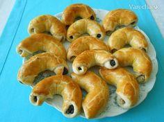 Bratislavské rožky (fotorecept) - Recept Bagel, Food And Drink, Bread, Recipes, Basket, Brot, Recipies, Baking, Breads