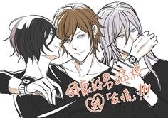 Prince of Stride - Tomoe, Heath, and Kyousuke by 咪 on pixiv