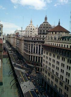 Diagonal Norte | Cúpulas de Buenos Aires, Argentina  También visita nuestro sitio www.arquirecursos.com