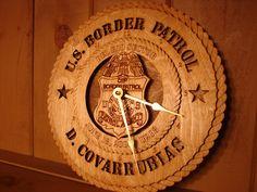 US Border Patrol Clock