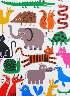 print & pattern: GIFT WRAP - lisa jones