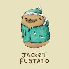 The Pugtato - Sophie Corrigan Illustration