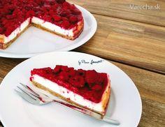 Malinový cheesecake (fotorecept) - Recept Good Food, Yummy Food, Cheesecake Brownies, Mini Cheesecakes, Healthy Desserts, No Bake Cake, Sweet Recipes, Baking Recipes, Sweet Treats