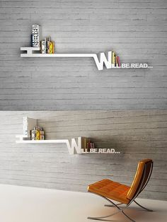 """""""Has been read, Will be read"""" bookshelf and 6 other nifty book holders."""