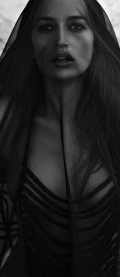 I'm not sure if Kenza Fourati is the photographer or the model. I think the model is Eva Green. From German Cosmopolitan Sex & Art Issue Dark Beauty, Under The Veil, Charo Ruiz, Portrait, Maila, Foto Art, Black Veil, Poses, Dark Fashion