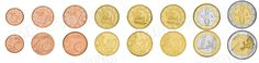 Cyprus,  set of 8 uncirculated coins