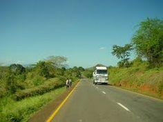 Main Road btw. Dar Es Salaam and Tanga, Tanzania