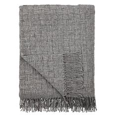 Buy John Lewis Croft Collection Basket Weave Throw Online at johnlewis.com. grey blanket