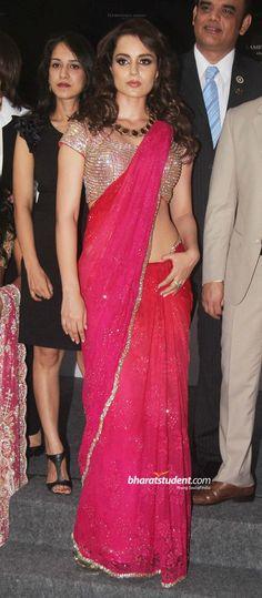 Hindi Events Kangna Ranaut at Aamby Valley India Bridal Week Launch Photo gallery