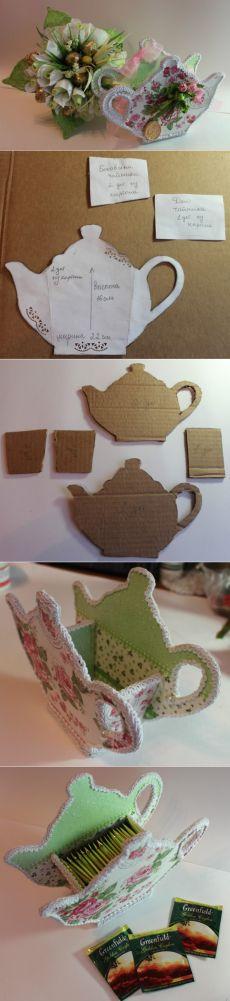 Идея для кухни - чайник для пакетиков чая.