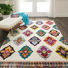 Tapete Floral, Hygge, Eclectic Rugs, Bohemian Bedroom Decor, Large Rugs, Room Rugs, Rugs In Living Room, Condo Living, Carpet Colors