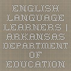 English Language Learners | Arkansas Department of Education