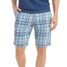 Tommy Bahama Plaid of Versailles 10-Inch Shorts in Dockside Blue