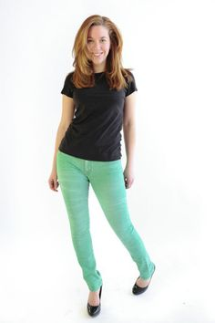 green jeans from m2f denim.
