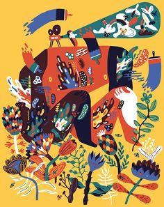 Diego Marmolejo   Minimalism & Maximalism Collide graphics
