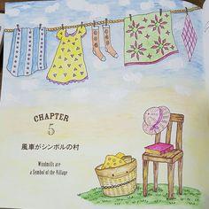 Romantic Country com lápis de cor Caran D'ache Supracolor e tinta branca..., colorido por @lelescristiane