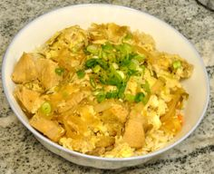 Oyakodon recipe - chicken and egg rice bowl