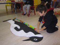 Penguen Habitats, Street Art, Gems, Kids Rugs, School, Penguins, Winter Time, Kid Friendly Rugs, Rhinestones